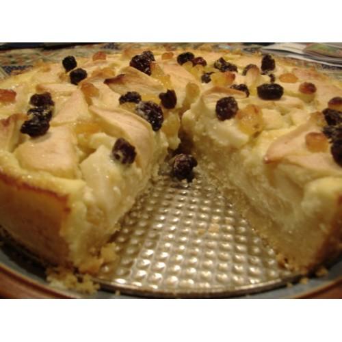 Streusel Cake, Custard & fruits