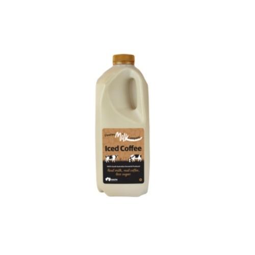 Milk, Iced Coffee 2lts