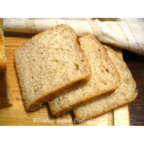 Bread Loaf, whole meal Sliced