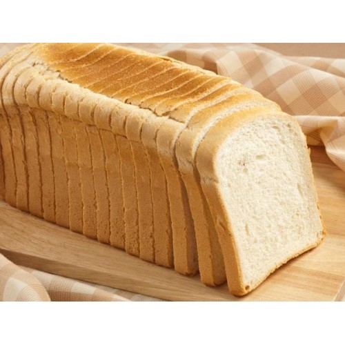 Bread Loaf, White sliced