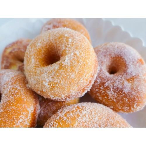 Donuts, cinnamon