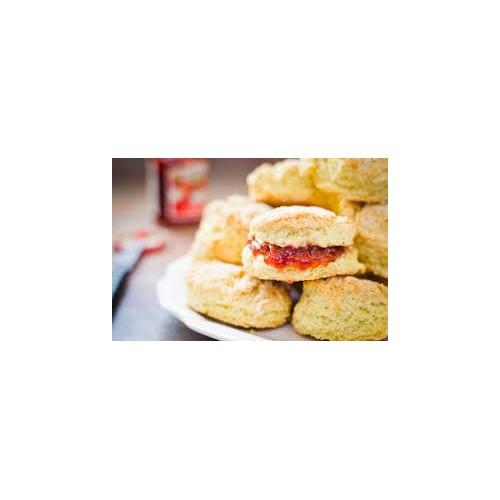 scones, fruit
