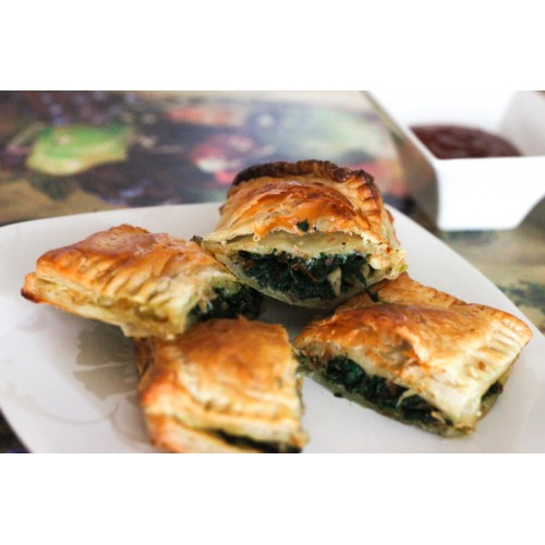 Pasty, Spinach & Cheese
