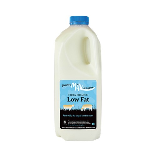 milk, Jersey premium low fat  2 lts