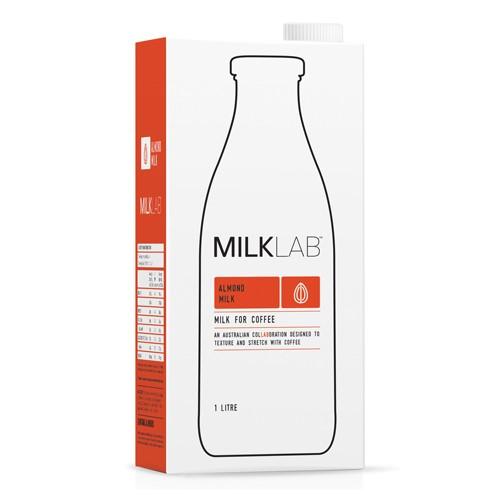 Milk, 1L Milk Lab Almond