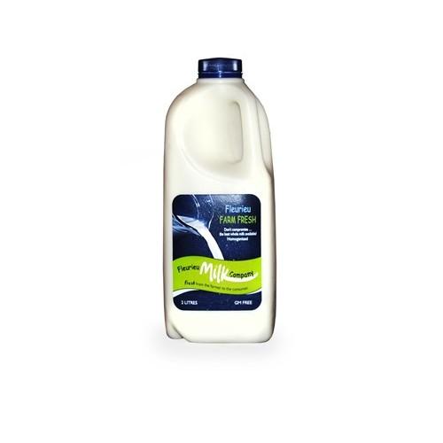 Milk, Full Cream Homogenised 2 lts